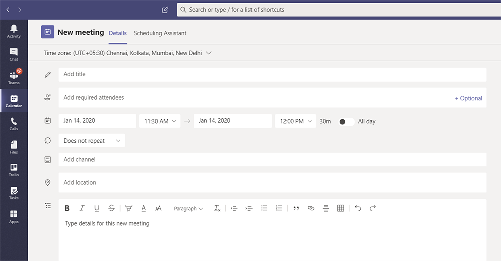 New-scheduling-form-for-Teams
